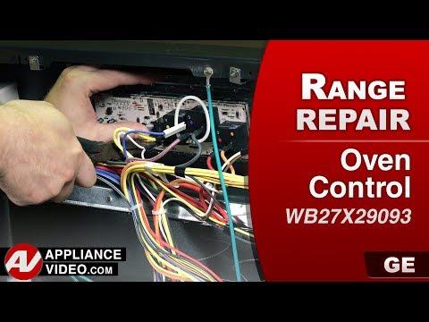 GE ( General Electric ) Range , Oven  -  Diagnostic & Repair - Control Board
