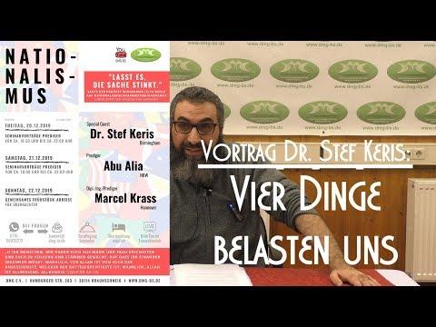 VIER DINGE BELASTEN UNS Mit Dr. Stef Keris Am 20.12.2019 In Braunschweig