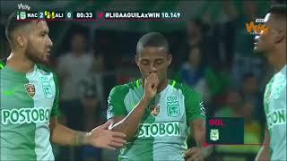 Atlético Nacional 4-0 Alianza Petrolera. Fecha 9 Liga Aguila 2017–II – Win Sports