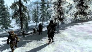 Elder Scrolls V: Skyrim Walkthrough in 1080p, Part 39: Entering Korvanjund (PC Gameplay)