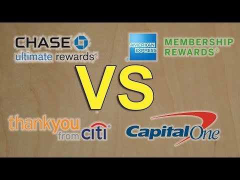 Battle Of The Points Currencies! Chase VS Amex VS Citi VS Capital One