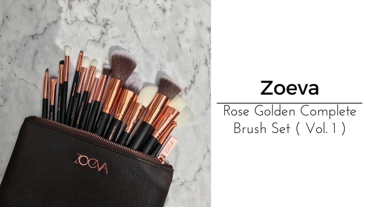 Kết quả hình ảnh cho review zoeva ROSE GOLDEN COMPLETE SET Vol. 1