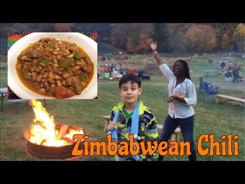 Zimbabwean Chili - Nyama Ne Nyemba (In Shona and English)