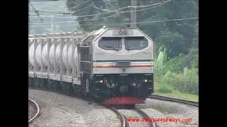 "[Keretapi Tanah Melayu] 26108 ""Tanjong Kupang"" hauling YTL Cement Liner @ Kuang"