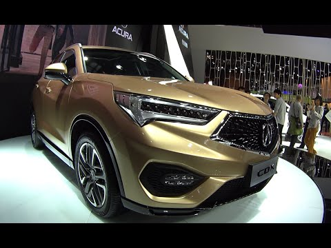 2016 2017 Acura Cdx Launched On The Beijing Auto Show Acura Cdx