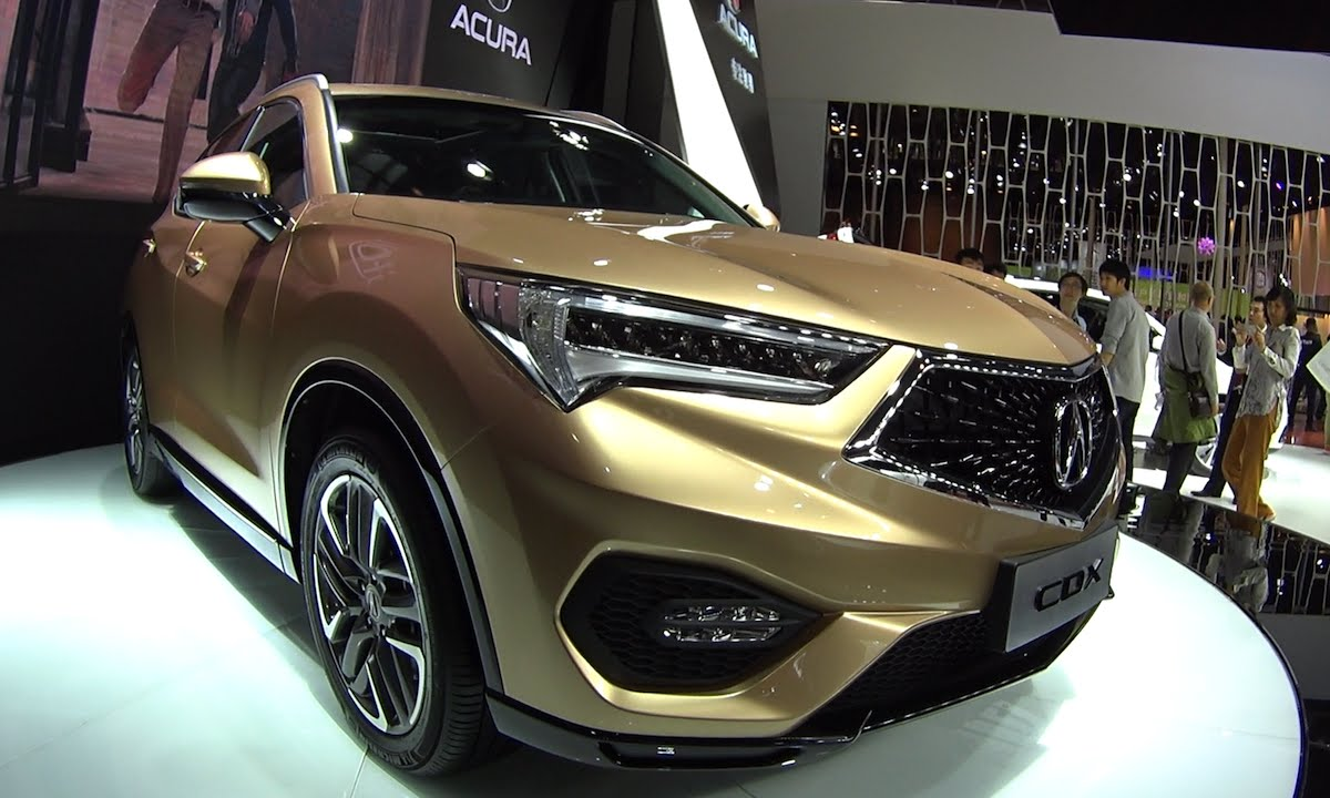 2016 2017 Acura Cdx Launched On The Beijing Auto Show Model You