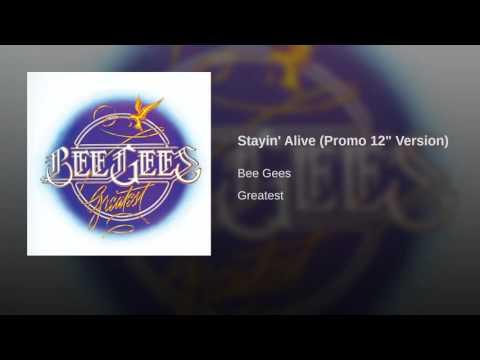 "Stayin' Alive (Promo 12"" Version)"
