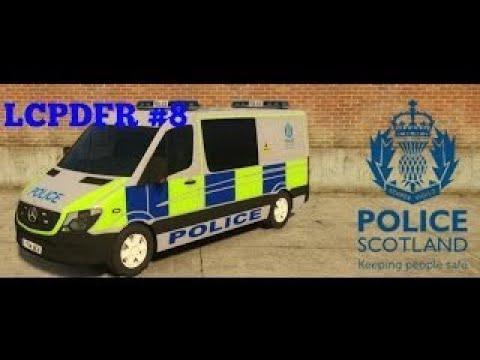 LCPDFR | Patrol 8 | British Police | New 2014 Police Scotland Van