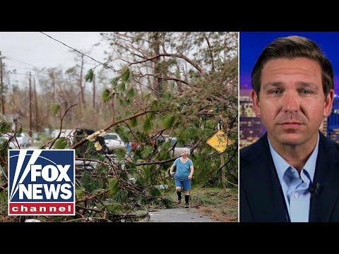 Ron DeSantis on Hurricane Michael, Florida governors race