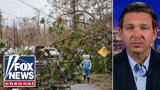 Ron DeSantis on Hurricane Michael, Florida governor's race