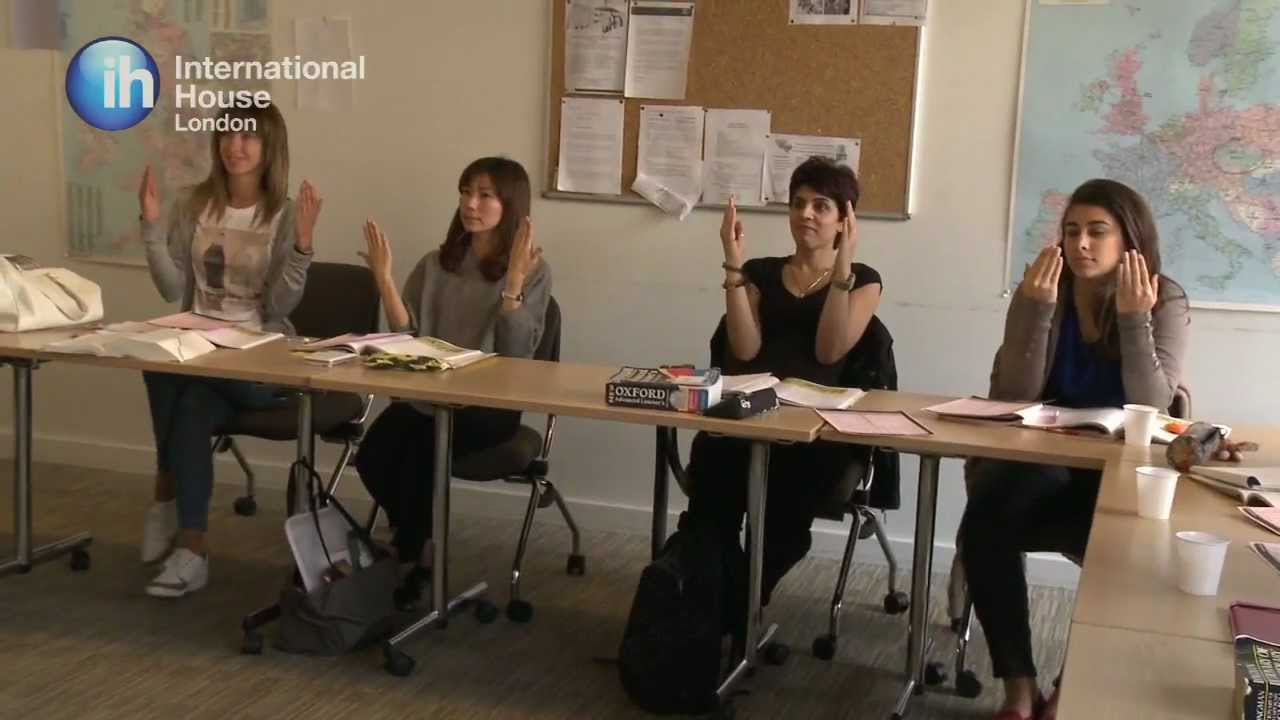 Learn english in london an introduction to english for International housse