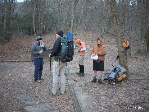 First Hike of 2014: Rock Gap to Deep Gap