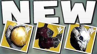 Destiny - ALL NEW EXOTIC ARMOR !!!