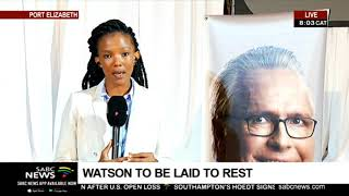 UPDATE: Watson to be laid to rest