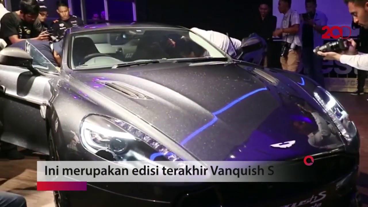 Cuma 1 Di Indonesia Aston Martin Vanquish S Ultimate Youtube