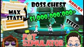 Roblox - Pet Simulator - Max Stats su animali domestici OP, e Mega Boss Chest!