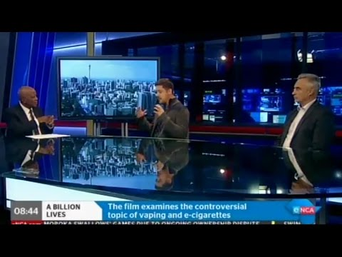 A Billion Lives on South Africa's #1 News Station