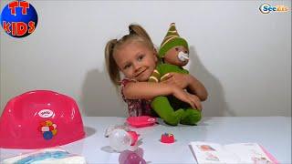 ✿ Baby Born Видео для детей. Новая Игрушка Ярославы. Baby Born Toy Videos Unboxing Серия 21 ✿