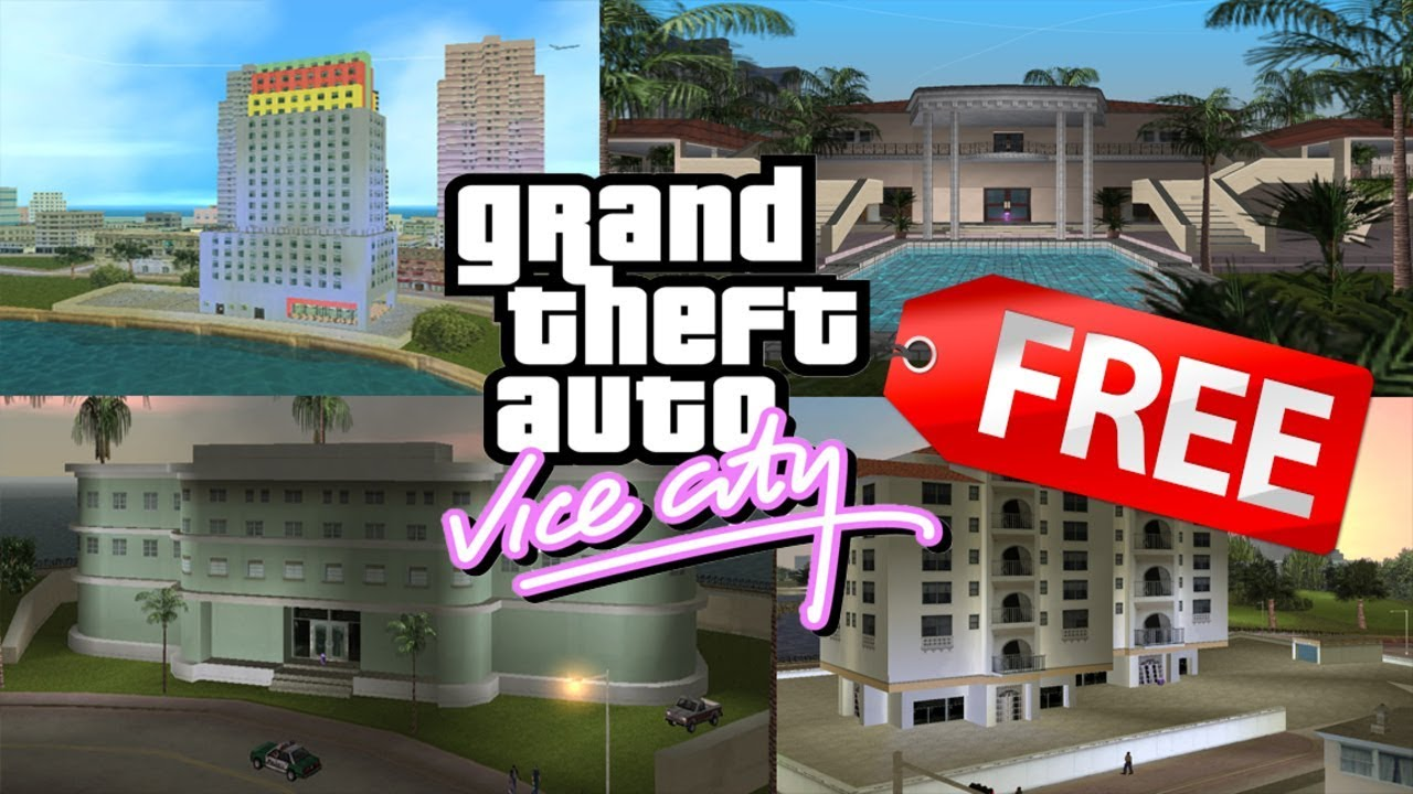 How to Buy Safe houses for FREE in GTA Vice City