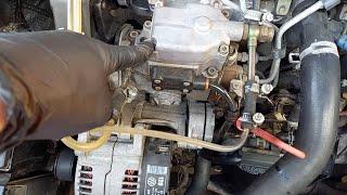 Плавают обороты на двигателе AUDI VW TDI. Меняем дозатор насоса BOSCH  PASSAT B4 1.9TDI. #146