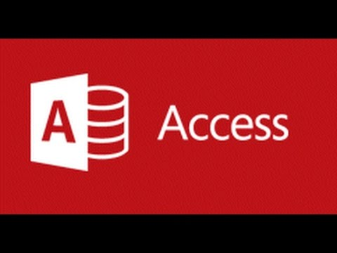 Access 2016 - How to Make a Database - Part 1 - Tables