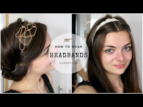 Six Ways To Wear Headbands