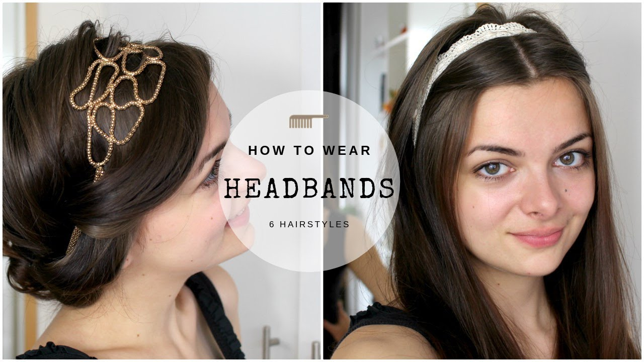 How to plaited wear hair band pictures