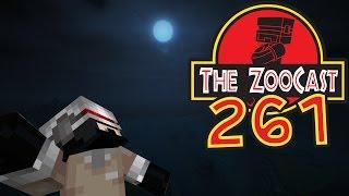 Minecraft Jurassic World (Jurassic Park) ZooCast - #261 A Present From GamingOnCaffeine!