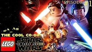 Lego Star Wars: The Force Awakens: Прохождение #1. Вдвоем за одним компьютером