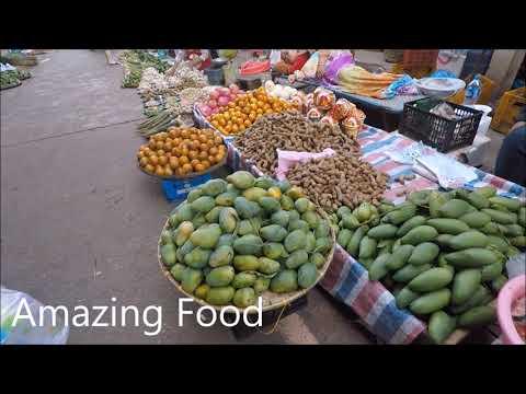 Laos Food - Village Market 2018