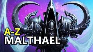 ♥ A - Z Malthael Heroes of the Storm (HotS Gameplay)