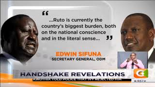 ODM says Ruto approached Raila