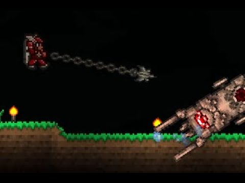 [Terraria] Expert Mode, Melee Only Destroyer Fight