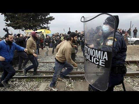 EU-Flüchtlingskrise: Bis zu 20.000 Menschen an griechisch-mazedonischer Grenze erwartet