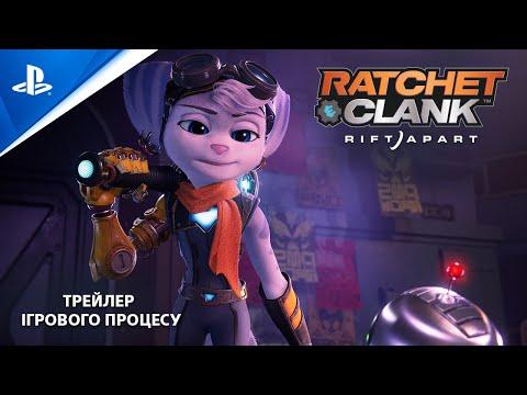 Погляд на нову героїню в геймплейному трейлері Ratchet & Clank: Rift Apart