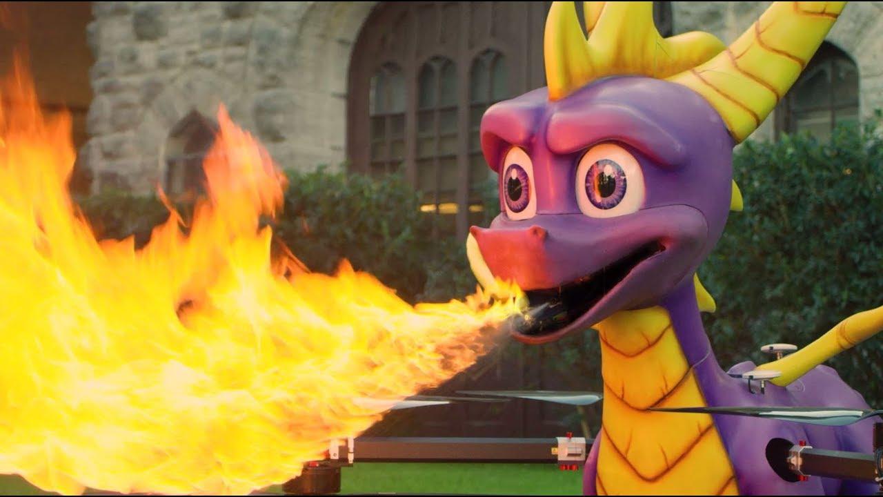 Огнедышащий дракон улетел к Снуп Догу, чтобы подарить ему Spyro Reignited Trilogy (видео)