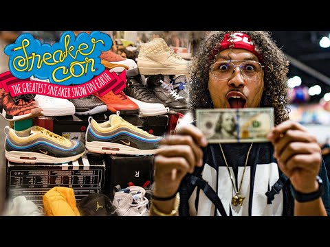WHAT CAN $100 BUY AT SNEAKER CON? (SHOCKING)
