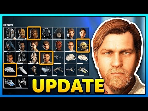 MAXED OUT Obi-Wan Soon? - Star Wars Battlefront 2 Collection Update thumbnail