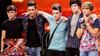 Overload sing 9 to 5 | Boot Camp | The X Factor UK 2014