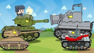 Три мини серии Мультики про танки