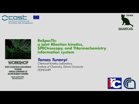 ReSpecTh: a joint reaction kinetics, spectroscopy, and thermochemistry information system