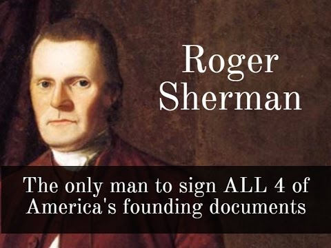 The only man to sign ALL 4 of America's founding documents