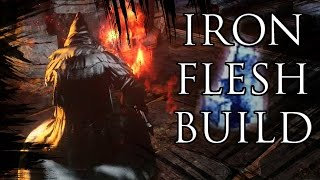 Dark Souls 2 PvP  Iron Flesh Fast Roll Max Duration Build  (Explanation and Invasions)