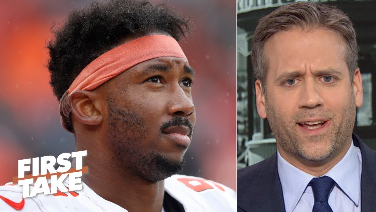 Myles Garrett doesn't deserve an indefinite suspension – Max Kellerman | First Take
