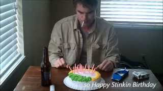 Happy Stinkin Birthday (funny happy birthday song)