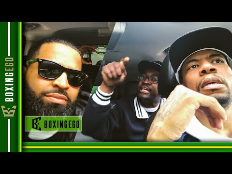 MOST HEATED Deontay Wilder vs Anthony Joshua & Dominic Breazeale RIDESHARE