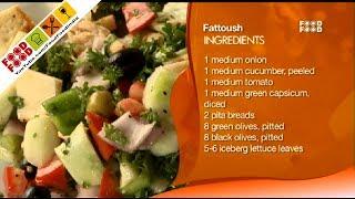 Fattoush (lebanese) | Sanjeev Kapoor's Kitchen