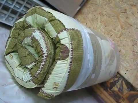 Чудо-ватный матрац от Иваново-текстиль - YouTube