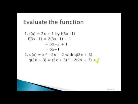 Gen.Math: Evaluation of Function Tagalog Tutorial