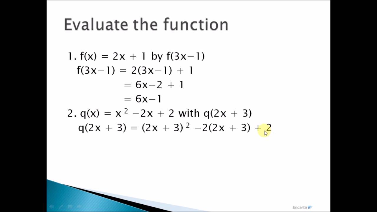 Gen Math: Evaluation of Function Tagalog Tutorial